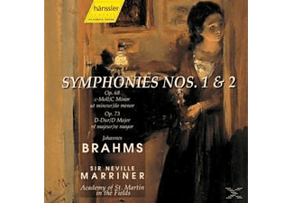 Academy of St. Martin in the Fields - Brahms: Symphonies Nos. 1 & 2 - (CD)