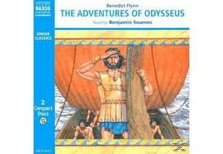 THE ADVENTURES OF ODYSSEUS - 2 CD - Märchen/Sagen