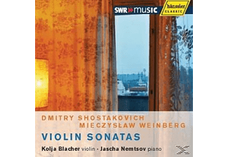 Vio K.blacher - VIOLIN SONATAS - (CD)