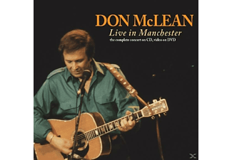 Don Mclean - Live In Manchester - (CD)