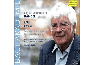 Helmuth Rilling - Saul Hwv 53 - (CD)