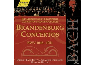 Oregon Bach Festival Chamber O - BRANDENB.CTOS.BWV 1046-1051 - (CD)
