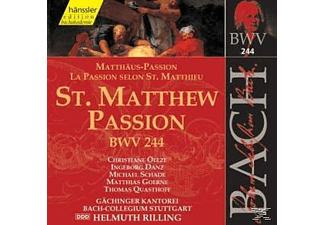 Helmuth Rilling - St. Matthew Passion - (CD)