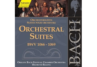 VARIOUS - Orchestersuiten BWV 1066-1069 - (CD)