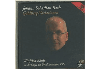 Winfried Bönig - GOLDBERG VARIATIONEN ORGEL - (CD)