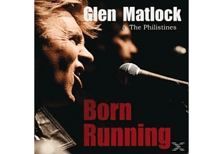 Glen & The Philistines Matlock - Born Running - (Vinyl)
