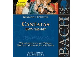 Bach Ensemble - KANTATEN BWV 146+147 - (CD)