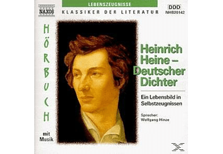 Heinrich Heine, Deutscher Dichter - 2 CD - Anthologien/Gedichte/Lyrik
