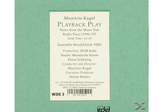 Mauricio Kagel - Playback Play [CD]