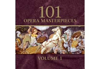 Various - 101 Opera Masterworks Volume 1 - (CD)