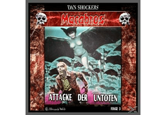 Macabros 3 - Attake der Untoten - 1 CD - Horror