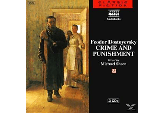 CRIME AND PUNISHMENT - 3 CD - Literatur/Klassiker