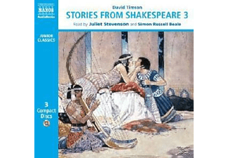 STORIES FROM SHAKESPEARE 3 - 3 CD - Kinder/Jugend