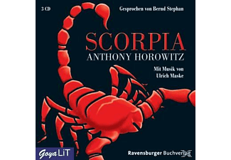 Scorpia - 3 CD - Krimi/Thriller