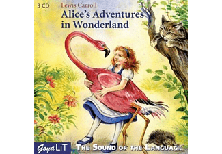 The Sound Of The Language - Alice's Adventures In Wonderland (English) - (CD)