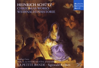 La Petite Bande - Christmas Works-Weihnachtshistorie - (CD)