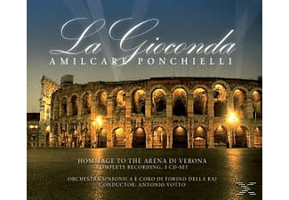 Amilcare Ponchielli - La Gioconda [CD]