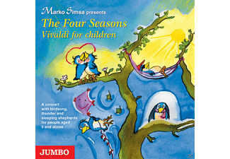 - Four Seasons. Vivaldi For Children - (CD)