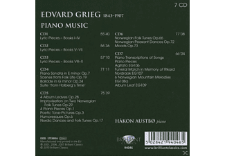 Hakon Austbo - Grieg: Piano Works - (CD)