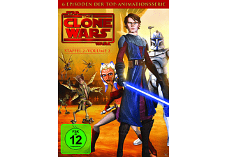 Star Wars: The Clone Wars - Staffel 2 / Vol. 2 - (DVD)