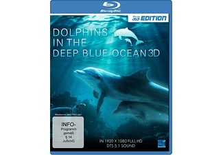 Dolphins In The Deep Blue Ocean 3D [3D Blu-ray]