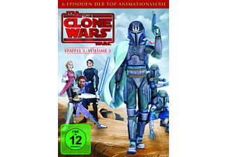 Star Wars: The Clone Wars - Staffel 2 / Vol. 3 - (DVD)