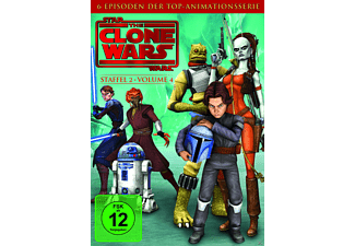 Star Wars: The Clone Wars - Staffel 2 / Vol. 4 - (DVD)