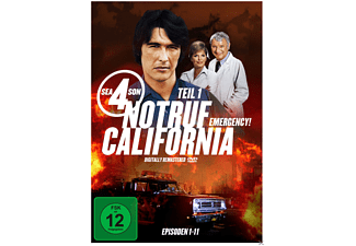 Notruf California - Staffel 4.1 [DVD]