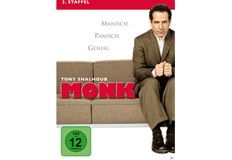 Monk - Staffel 3 - (DVD)