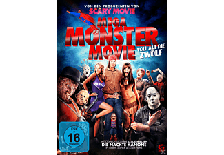 Mega Monster Movie - (DVD)