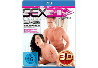 SEX 3D - Erotik in der dritten Dimension Vol. 2 - (3D Blu-ray)