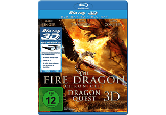 The Fire Dragon Chronicles: Dragon Quest 3D - (3D Blu-ray)