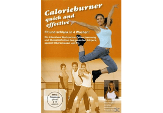 CALORIEBURNER-QUICK AND EFFECTIVE [DVD]