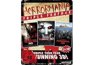 Horrormanina Triple Feature [3D Blu-ray]