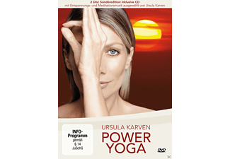 power yoga mit ursula karven sonderedition dvd dokus reise sportfilme dvd mediamarkt. Black Bedroom Furniture Sets. Home Design Ideas