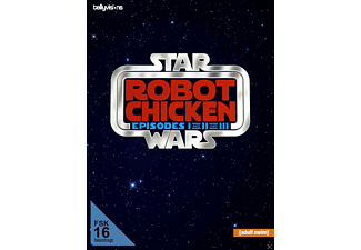 Robot Chicken Star Wars - Episode I and II and III - (DVD)