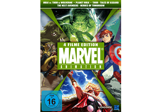 Marvel Animation - 4 Filme Edition [DVD]
