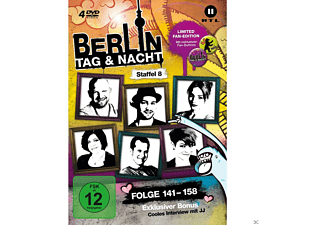 Berlin - Tag & Nacht - Staffel 8 (Limited Fan-Edition) - (DVD)