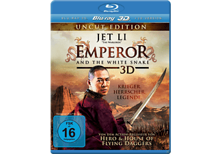 Emperor and the White Snake 3D - (3D Blu-ray)
