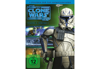 Star Wars: The Clone Wars - Staffel 4, Vol. 2 [DVD]