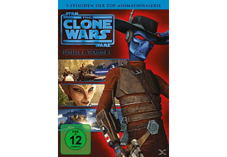 Star Wars: The Clone Wars - Staffel 4, Vol. 3 [DVD]