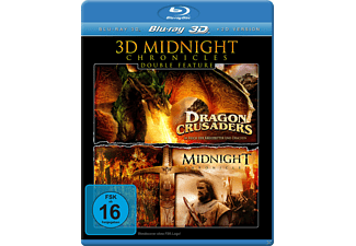 3D MIDNIGHT CHRONICLES DOUBLE FEATURE - (3D Blu-ray)