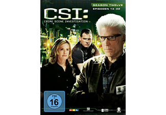 CSI: Crime Scene Investigation - Staffel 12.2 - (DVD)
