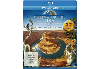 Weltnaturerbe USA 3D - Grand Canyon Nationalpark [3D Blu-ray]