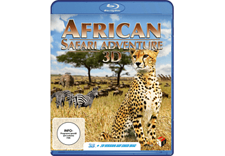 African Safari Adventure - (Blu-ray)