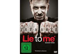 Lie To Me - Staffel 3 [DVD]
