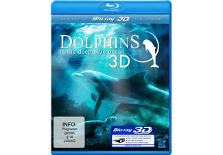 Dolphins in the Deep blue Ocean 3D - (3D Blu-ray)
