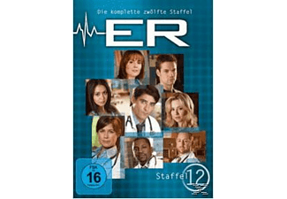 E.R. - Emergency Room - Staffel 12 - (DVD)