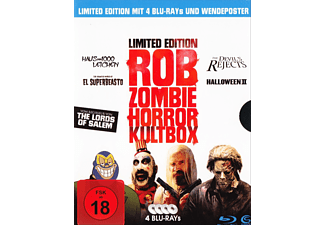 Haus der 1000 Leichen, The Devil's Rejects, Halloween II, El Superbeasto - (Blu-ray)