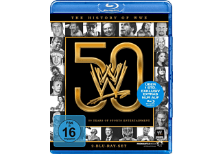 The History of WWE: 50 years of sports entertainment - (Blu-ray)